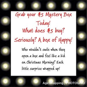 Other - $5 Mystery Surprise Grab Bag Box ~ Box Of Happy